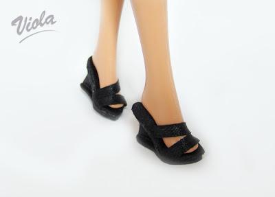 buty dla barbie lub fashion royalty