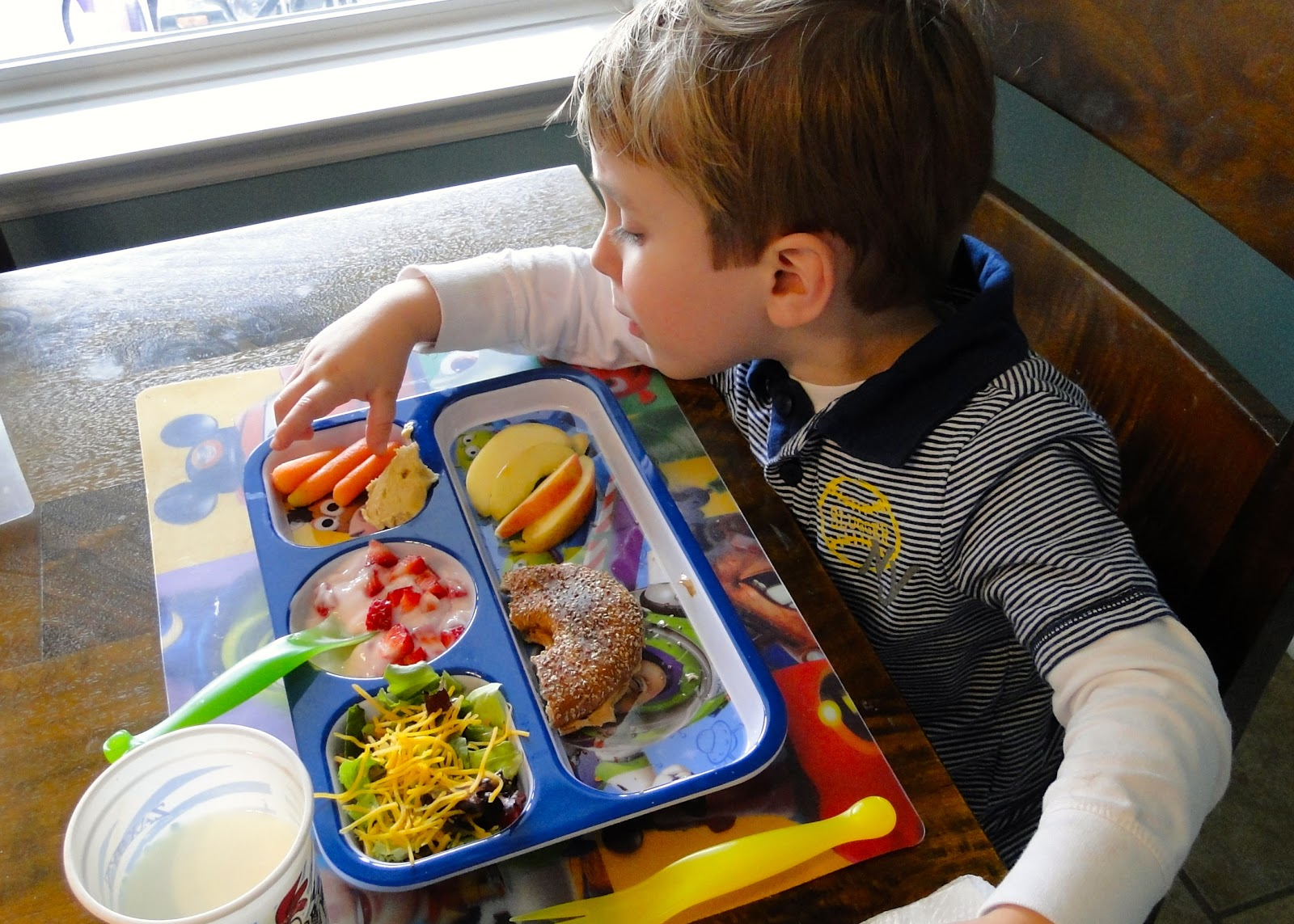 The Journey of Parenthood...: Healthier Preschooler Lunches
