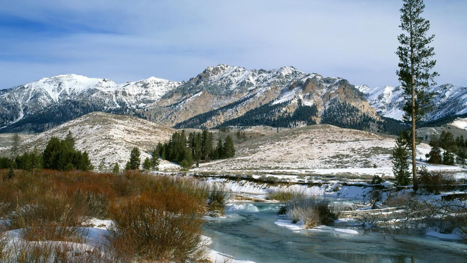 beautiful snow mountain hd - photo #26