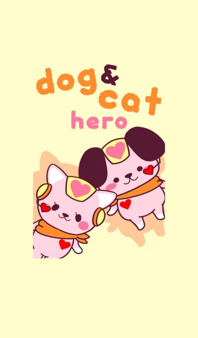 dog & cat hero