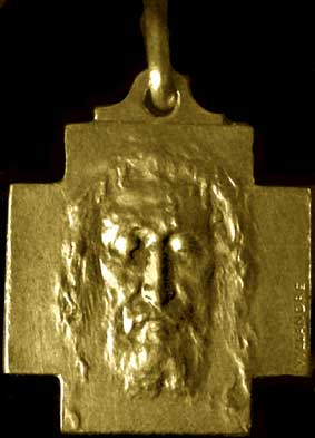 Religious and Baptism Medal in 18 k gold: May 2013