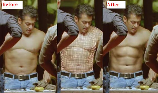salman khan abs vfx shot