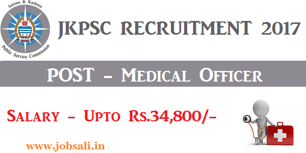 jkpsc exam notifications, JKPSC Medical Officer vacancy, Jobs in Jammu