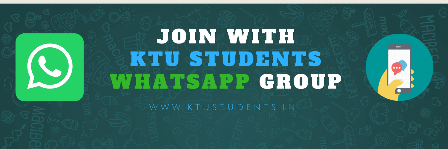 Join on KTUSTUDENTS IN Whatsapp Group | KTU Students - Engineering
