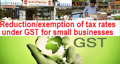 reduction-exemption-of-tax-rates-under-gst-paramnews-small-businesses