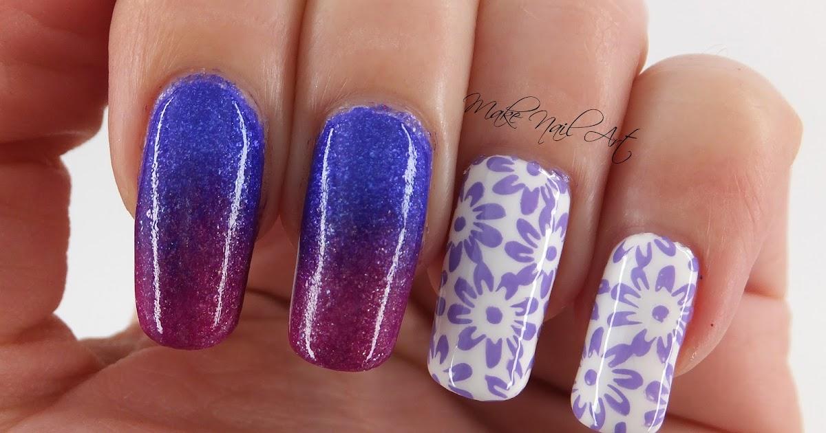 Fading Nail Design Gallery - nail art and nail design