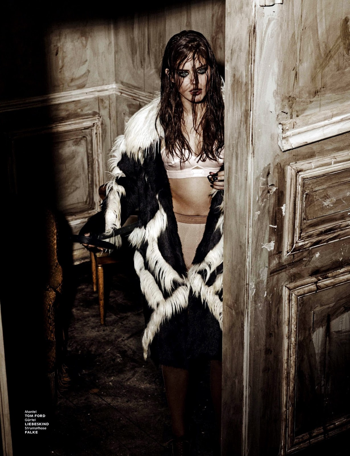 Emily didonato cover story shocking for interview for Davide diodovich