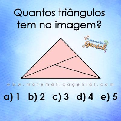 Desafio - Quantos triângulos tem na imagem?