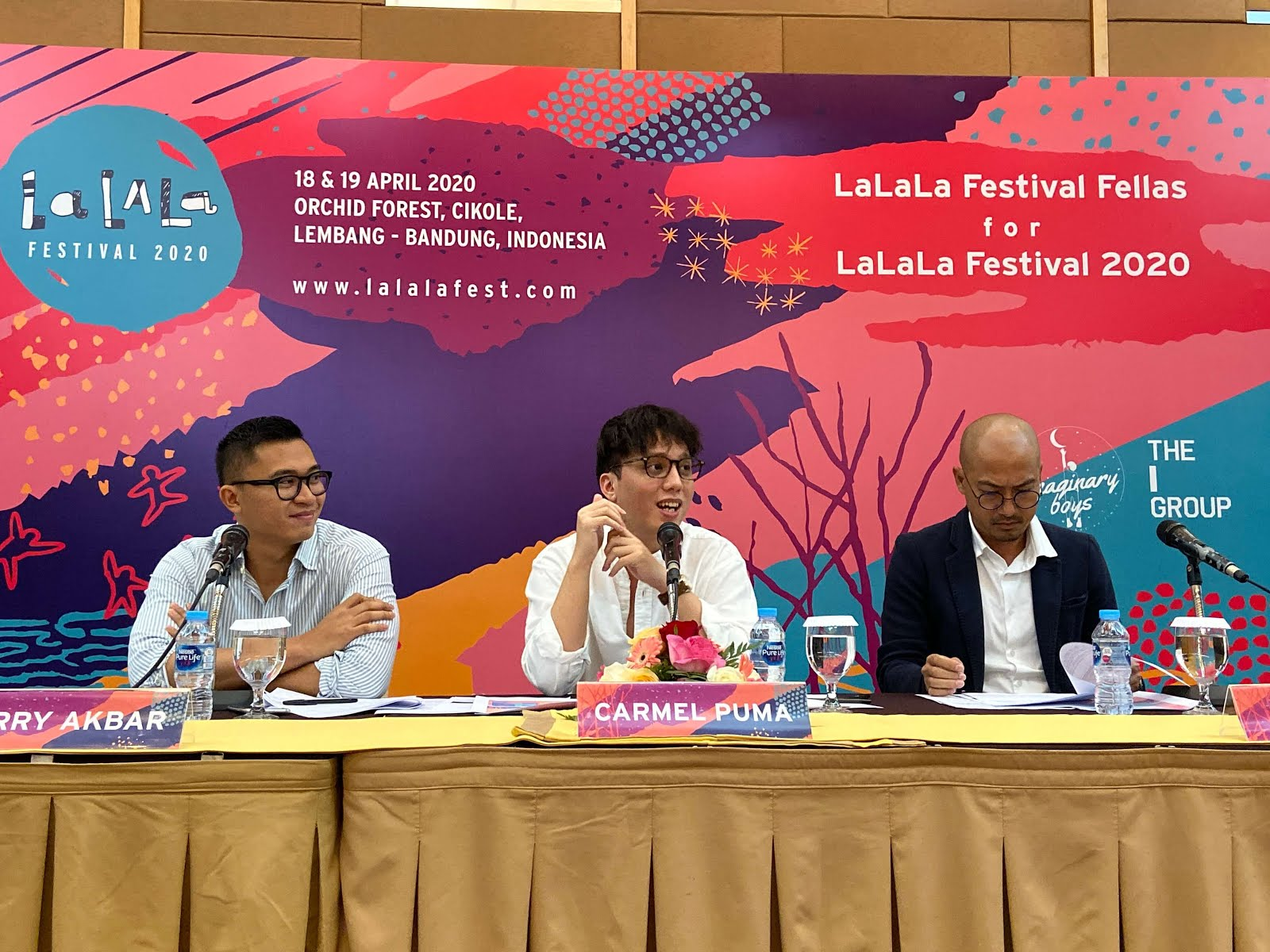 Press Conference of LaLaLa Festival 2020 - A better LaLaLa Festival made with hands of everyone