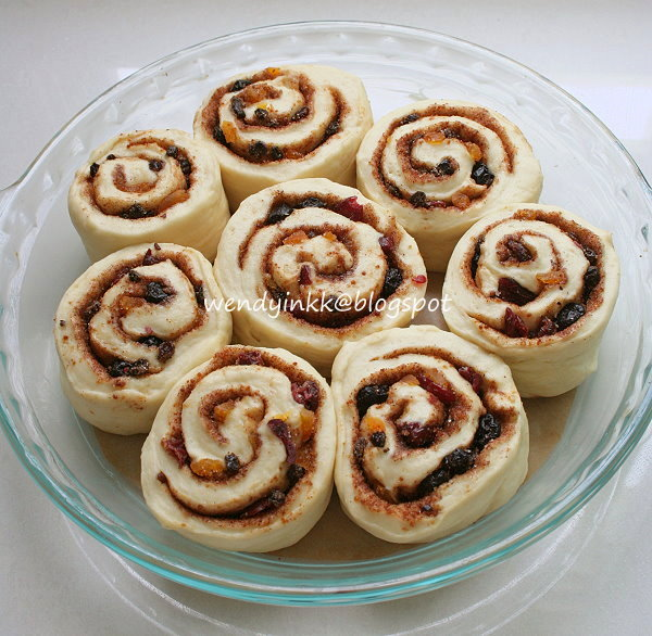 Table for 2.... or more: Chelsea Buns - Cinnful Rolls #1