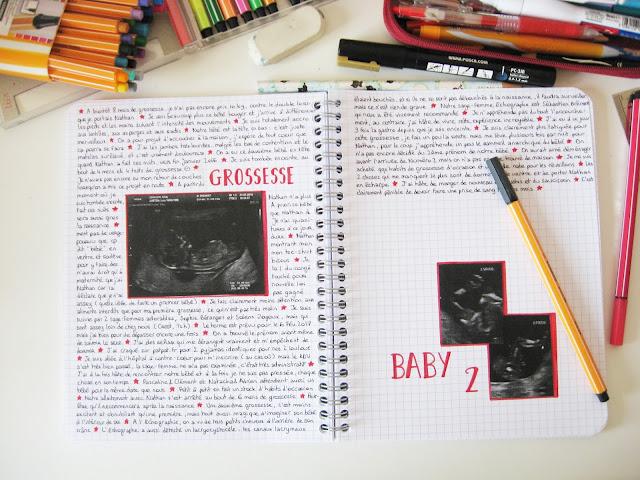 bullet journal grossesse pregnant