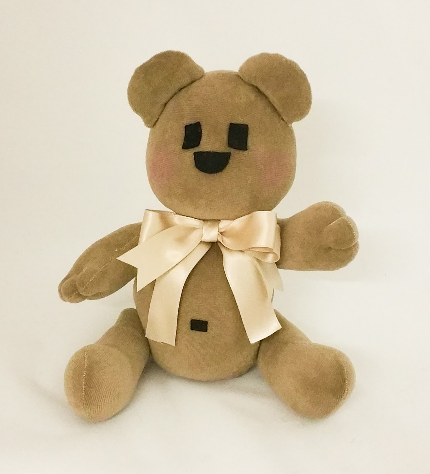 Preferenza Angeli di Pezza: Un Teddy Bear Facile Facile QW65