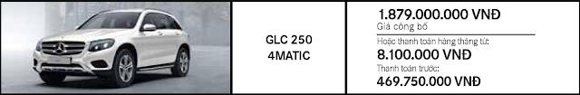 Giá xe Mercedes GLC 250 4MATIC giảm giá bất ngờ cơ hội để sở hữu