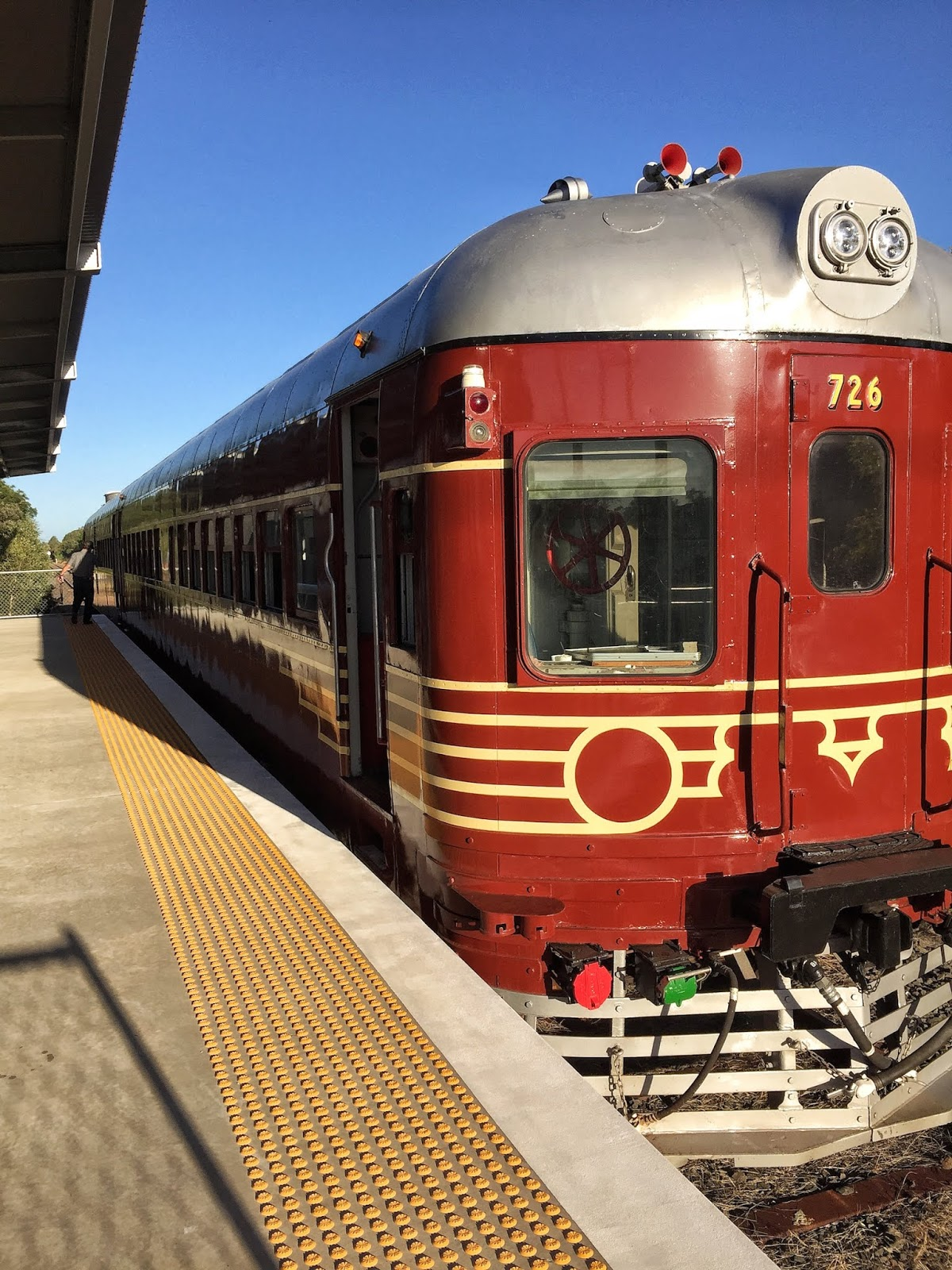 Byron Bay Travel Diary steam train