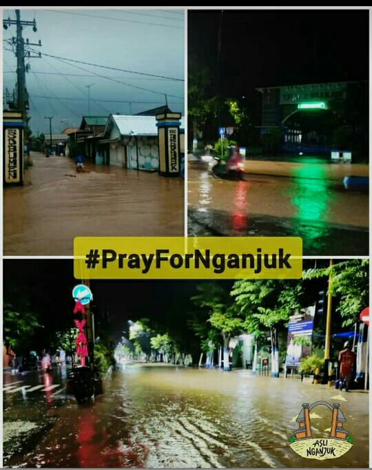 Donasi untuk Bencana Tanah Longsor di Ngeros Nganjuk dari Fatayat NU PAC Ngronggot