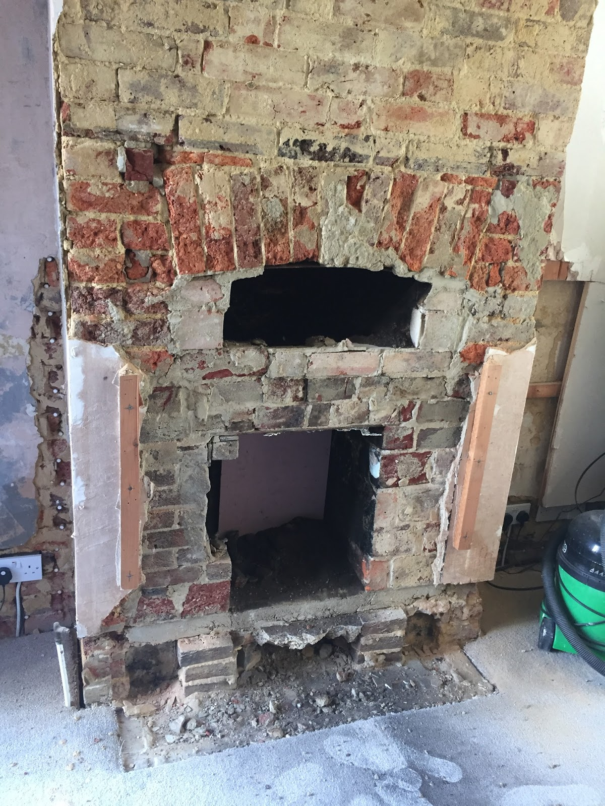 how we restored our fireplace and choosing our log burner