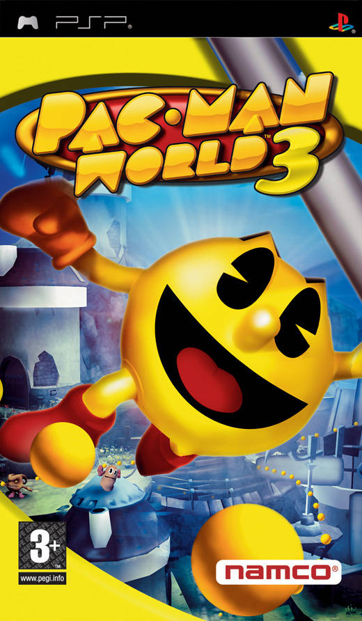 Pac-Man World 3 - PSP - ISO Download