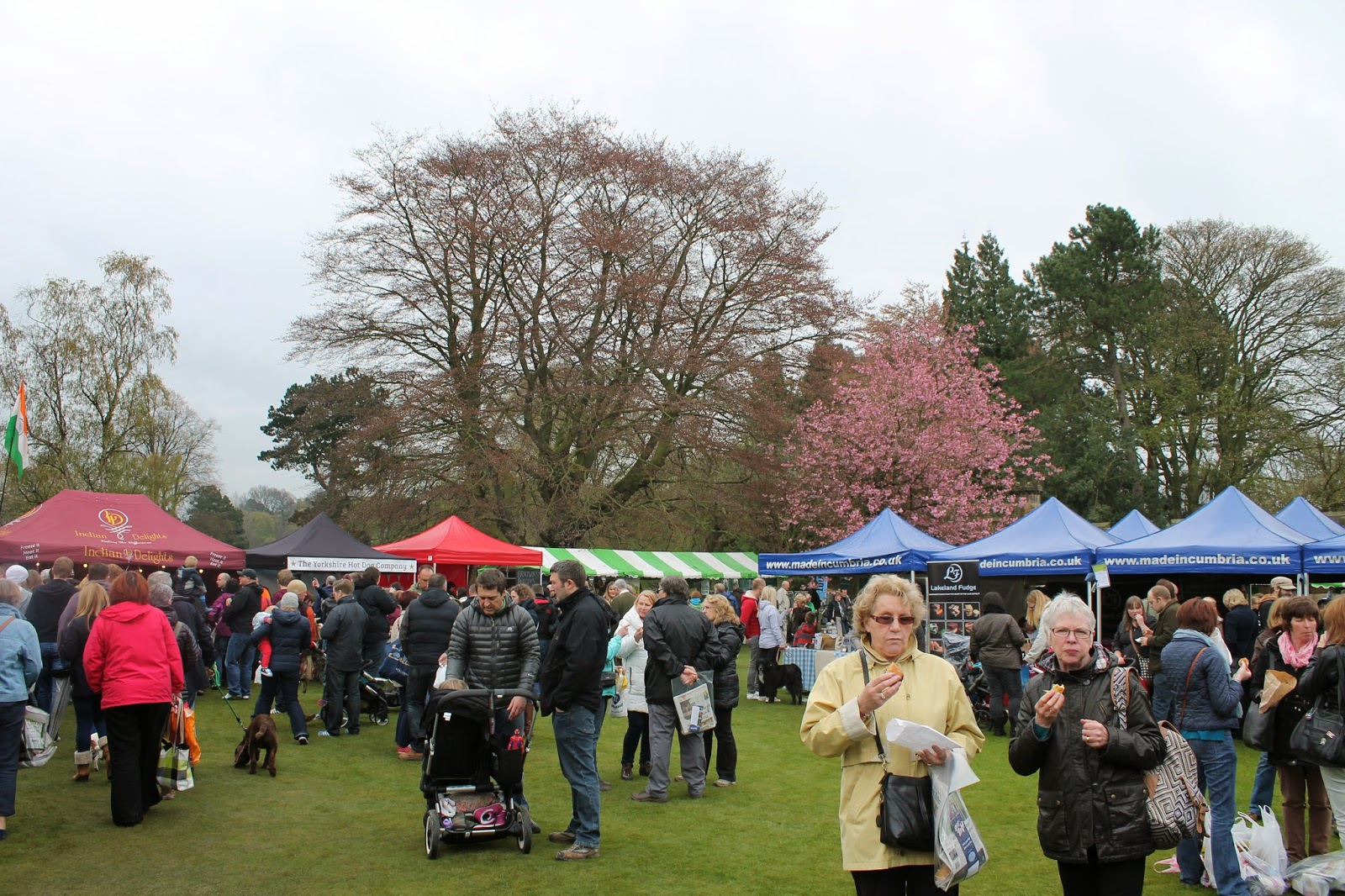 Bishop Auckland Food Festival 2014 - Stalls