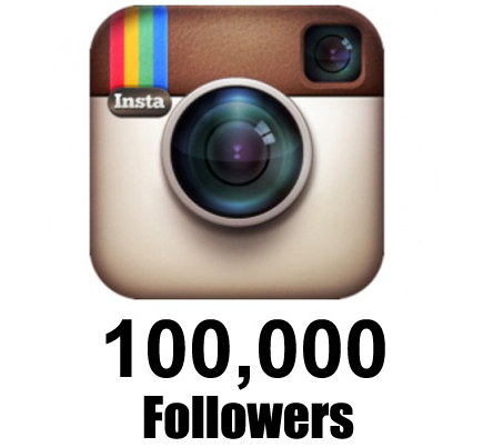 How to Get 100k Followers on Instagram