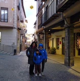 Calle de los Porches o Blasco de Alagón de Morella.