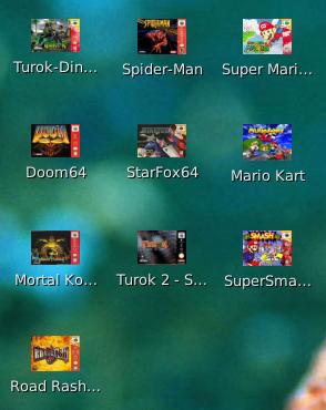 Linux dicas e suporte: Emulador Nintendo 64 mupen64plus para Debian