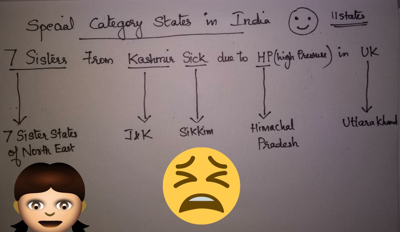 Brief understanding about States with Special Category Status