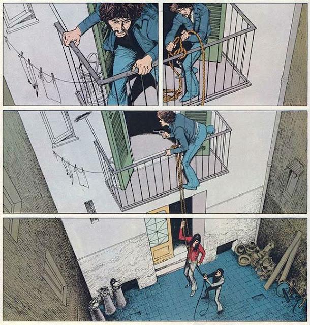 El inspector Spada, un cómic de Gianni Di Luca, arquitecto e ilustrador