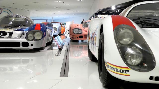 Porsche Museum in Stuttgart Le Mans Winners