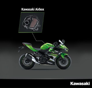 bengkel mesin Kawasaki Ninja 250 cc 2018