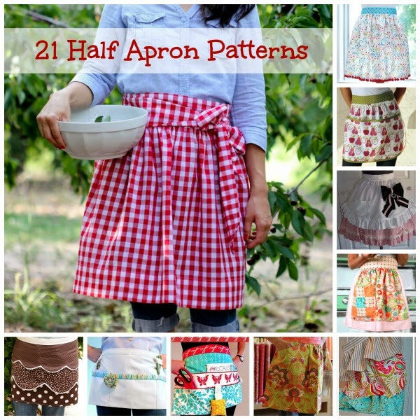 Free Patterns & Tutorials For Waist Aprons