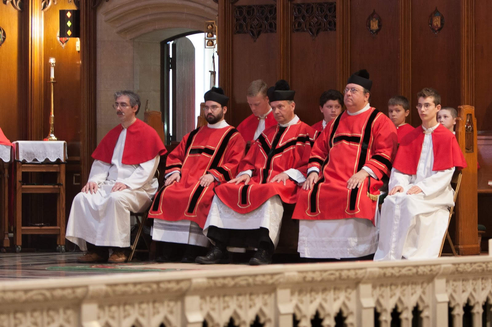 Te Deum laudamus!: Photos from Pentecost Solemn High Mass