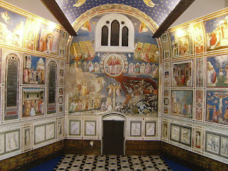 Giotto's extraordinary decoration of the Scrovegni Chapel. which is one of the highlights of a visit to Padua