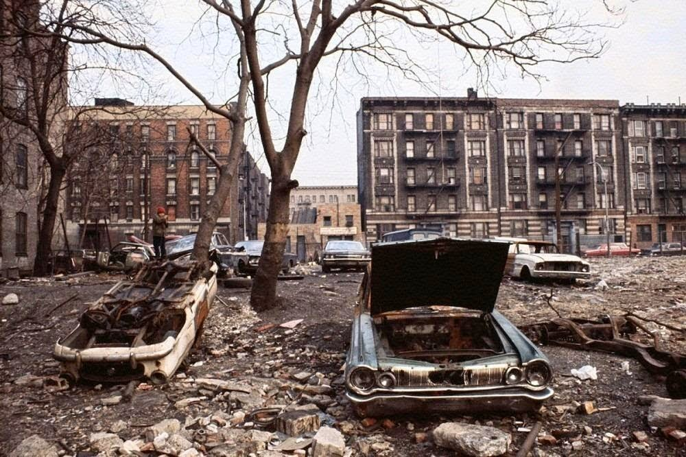 South Bronx, Nueva York, 1980