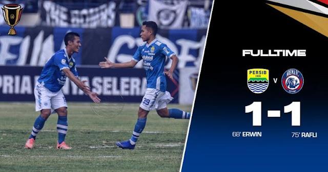 Persib Bandung vs Arema FC 1-1