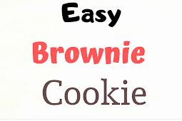 Easy Brownie Cookie Recipe