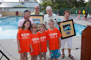 Spier Family Foundation at opening of Spier Family Outdoor Aquatics Center