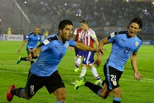Có nhiều cầu thủ xuất sắc trong đội hình của Uruguay