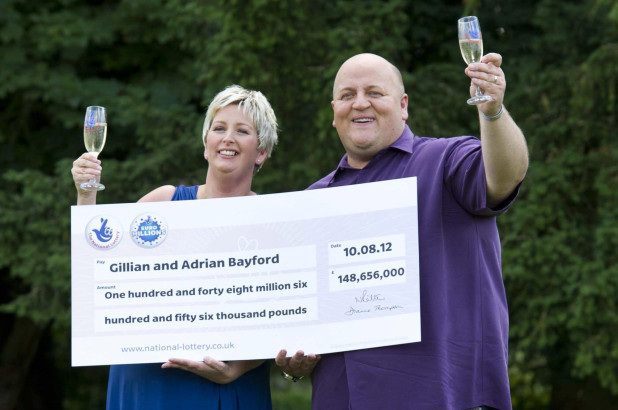 THE COUPLES 'CURSED' BY THEIR NATIONAL LOTTERY JACKPOT WINS