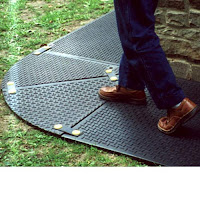 Greatmats temporary sidewalk mats