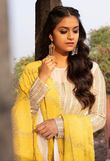 Keerthy Suresh in Yellow with Cute and Lovely Smile for New Movie Launch 1