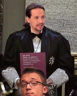 Iglesias presenta el documento que ha de firmar Sánchez