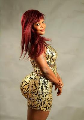 Beninese actress Ella Martins superb Curve
