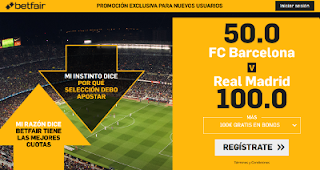 betfair supercuota clasico copa rey Barcelona vs Real Madrid 6 febrero 2019