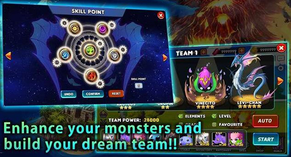 Download Monster Hunt Academy Mod Apk v1.3.7 God Mode Terbaru