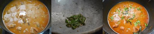 Step 7 -Nadan Kozhi Curry   Nadan Chicken Curry   Kerala Style Chicken Curry
