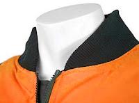Ampliar imagen con el detalle del cuello de la Cazadora Desmontable de Alta Visibilidad - 2 Colores  - JOMIBA
