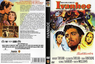 Carátula dvd: Ivanhoe (1952)