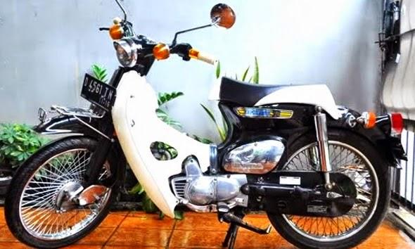kumpulan modifikasi motor honda bebek 70