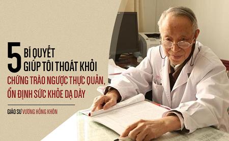 Bí quyết tự chữa bệnh dạ dày giúp ông khỏe mạnh, trường thọ của giáo sư 80 tuổi