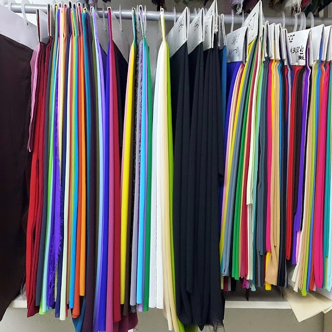 CHIFFON GEORGETTE CREPE - High Quality Fabric